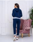 2046-01 темно-синий женский спортивный костюм (42,44,44, 3 ед.): артикул 110590101
