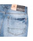 8812-4 R Relucky шорты джинсовые мужские молодежные синие коттоновые (28-36, 8 ед.): артикул 1106099