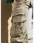 8953-2 бежевые Iteno джоггеры мужские весенние стрейчевые (29-38, 10 ед.): артикул 1106468