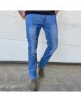 6008 Pobeda джинсы мужские полубатальные синие весенние стрейчевые (32-40, 8 ед.): артикул 1105212