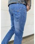 6006 Pobeda джинсы мужские синие весенние стрейчевые (30-40, 8 ед.): артикул 1105474