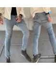 0242 (223) Pirate джинсы мужские серо-синие весенние стрейчевые (32-36, 8 ед.): артикул 1106673