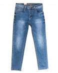 2218 Longli джинсы мужские полубатальные с царапками синие весенние стрейчевые (32-38, 8 ед.): артикул 1106562