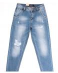 2213 Longli джинсы мужские молодежные с рванкой голубые весенние коттоновые (28-34, 8 ед.): артикул 1106585