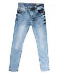 6776 Redcode джинсы мужские с царапками синие весенние стрейчевые (29-36, 8 ед.): артикул 1106655