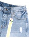 3714 New Jeans шорты джинсовые женские с рванкой синие коттоновые (25-30, 6 ед.): артикул 1106999