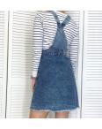 2980 Xray сарафан джинсовый грязно-голубой весенний коттоновый  (42-48,евро, 4 ед.): артикул 1106940