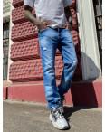 9901-3 Relucky джинсы мужские голубые стрейчевые (8 ед. размеры: 29.30.31.32.33.34.36.38): артикул 1104336