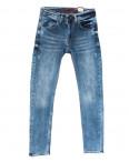 6795 Corcix джинсы мужские с царапками синие весенние стрейчевые (29-36, 8 ед.): артикул 1108721