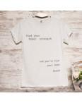 Серая женская футболка с принтом Akkaya 3203-4: артикул 1110808
