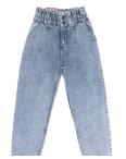 0740 Red Moon джинсы-баллон синие весенние коттоновые (25-30, 6 ед.): артикул 1109162