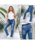 96373 Jo&Jo джинсы женские полубатальные синие весенние стрейчевые (28-33, 6 ед.): артикул 1109070