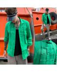 7079 Noseda рубашка мужская зеленая (S-XXL, 5 ед.): артикул 1109224