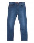 66009 Pr.Minos джинсы мужские полубатальные синие летние стрейчевые (32-38, 8 ед.): артикул 1109241