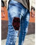 6088 Charj джинсы мужские голубые стрейчевые (8 ед. размеры: 29.30.31.32.32.33.34.36) : артикул 1108245