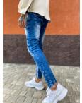 6088 Charj джинсы мужские с декоративной отделкой и стразами весенние стрейчевые (29-36, 8 ед.): артикул 1108245