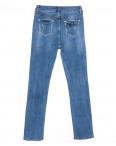 1573 Lady N джинсы женские полубатальные с царапками синие весенние стрейчевые (28-33, 6 ед.): артикул 1109737