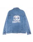 1510 Lady N куртка джинсовая женская синяя весенняя стрейчевая (L-4XL, 6 ед.): артикул 1109751