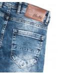 6858 Blue Nil джинсы мужские с царапками синие весенние стрейчевые (29-36, 8 ед.): артикул 1110120