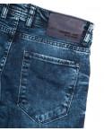 6886 Destry джинсы мужские с царапками синие весенние стрейчевые (29-36, 8 ед.): артикул 1110131
