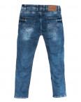 6891 Corcix джинсы мужские полубатальные c царапками синие весенние стрейчевые (32-40, 8 ед.): артикул 1110137