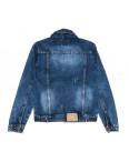 0222-1 A Relucky куртка джинсовая женская с царапками синяя осенняя коттоновая (S-XXL, 6 ед.): артикул 1110373