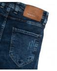 6818 Fashion red джинсы мужские с царапками синие весенние стрейчевые (29-36, 8 ед.): артикул 1110258