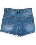 3355 Xray шорты джинсовые женские с рванкой синие коттоновые (34-42, 5 ед.): артикул 1110387