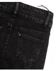 0585 New Jeans джинсы женские на флисе черные зимние стрейчевые (25-30, 6 ед.): артикул 1113581