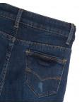 0586 New Jeans американка на флисе с царапками синяя зимняя стрейчевая (25-30, 6 ед.): артикул 1113817