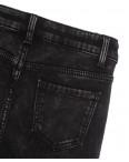 0579 New Jeans американка на флисе серая зимняя стрейчевая (25-30, 6 ед.): артикул 1113822