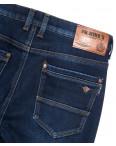 66052 Pr.Minos джинсы мужские полубатальные на флисе синие зимние стрейчевые (32-42, 8 ед.): артикул 1114135