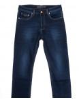 66048 Pr.Minos джинсы мужские полубатальные на флисе синие зимние стрейчевые (32-38, 8 ед.): артикул 1114138