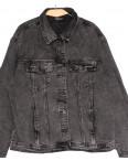 1625 Lady N куртка джинсовая женская серая осенняя стрейчевая (L-4XL, 6 ед.): артикул 1114185