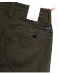 8387 Reman брюки карго мужские молодежные на флисе хаки зимние стрейчевые (28-36, 8 ед.): артикул 1115064