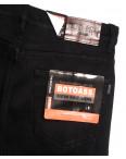 0201-1 Botoass джинсы мужские полубатальные на флисе черные зимние стрейчевые (32-42, 8 ед.): артикул 1115393