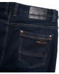 2027 Bagrbo джинсы мужские на флисе синие зимние стрейчевые (29-38, 8 ед.): артикул 1115397