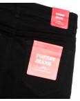 5263 Forest Jeans джинсы женские полубатальные черные осенние стрейчевые (28-33, 6 ед.): артикул 1115544