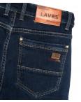 8003 Lavrs джинсы мужские молодежные на флисе синие зимние стрейчевые (28-36, 8 ед.): артикул 1115676