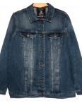 3051 Dimarkis Day куртка джинсовая женская батальная синяя осенняя стрейчевая (XL-6Xl, 6 ед.): артикул 1115688