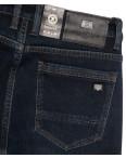 1077 Pаgalee джинсы мужские полубатальные на флисе темно-синие зимние стрейчевые (32-40, 8 ед.): артикул 1115692