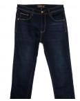 06999 T-Star джинсы мужские полубатальные на флисе темно-синие зимние стрейчевые (32-40, 8 ед.): артикул 1115728