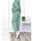 14864 мята женский спортивный костюм трехнитка на флисе (4 ед. размеры: S.M.L.XL): артикул 1117036