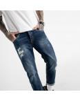 0181-01 мужские джинсы синие котоновые (6 ед. размеры: 30.32.34.34.36.38): артикул 1117246