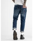 0181  мужские джинсы синие котоновые (6 ед. размеры: 30.32.32.34.34.36): артикул 1117245