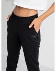 2527 черные спортивные штаны из двунитки (4 ед. размеры: 42.44.46.48): артикул 1123359