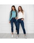 9017 OK&OK джинсы женские синие стрейчевые (6 ед. размеры: 25.26.27.28.29.30): артикул 1123729