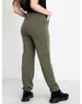 14870-10 Mishely хаки брюки женские спортивные батальные стрейчевые (4 ед. размеры: 50.52.54.56): артикул 1123841