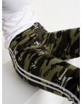 0902 Li Ruo Ya спортивные брюки женские камуфляжные на флисе (5 ед. размер: универсал  44-48): артикул 1117009