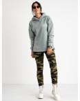 0901 Li Ruo Ya спортивные брюки женские камуфляжные на флисе (5 ед. размеры: универсал 44-48 ) : артикул 1116928